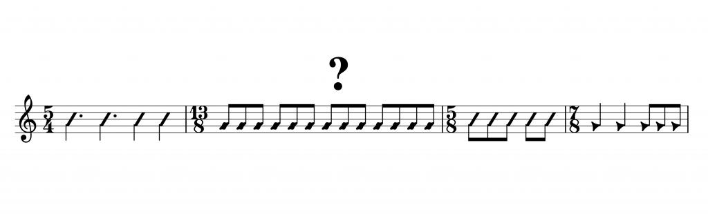 Taktarten Saxophonunterricht Bickenbach