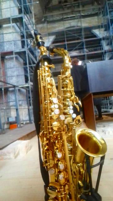 Saxofon in St.Johannis, Mainz